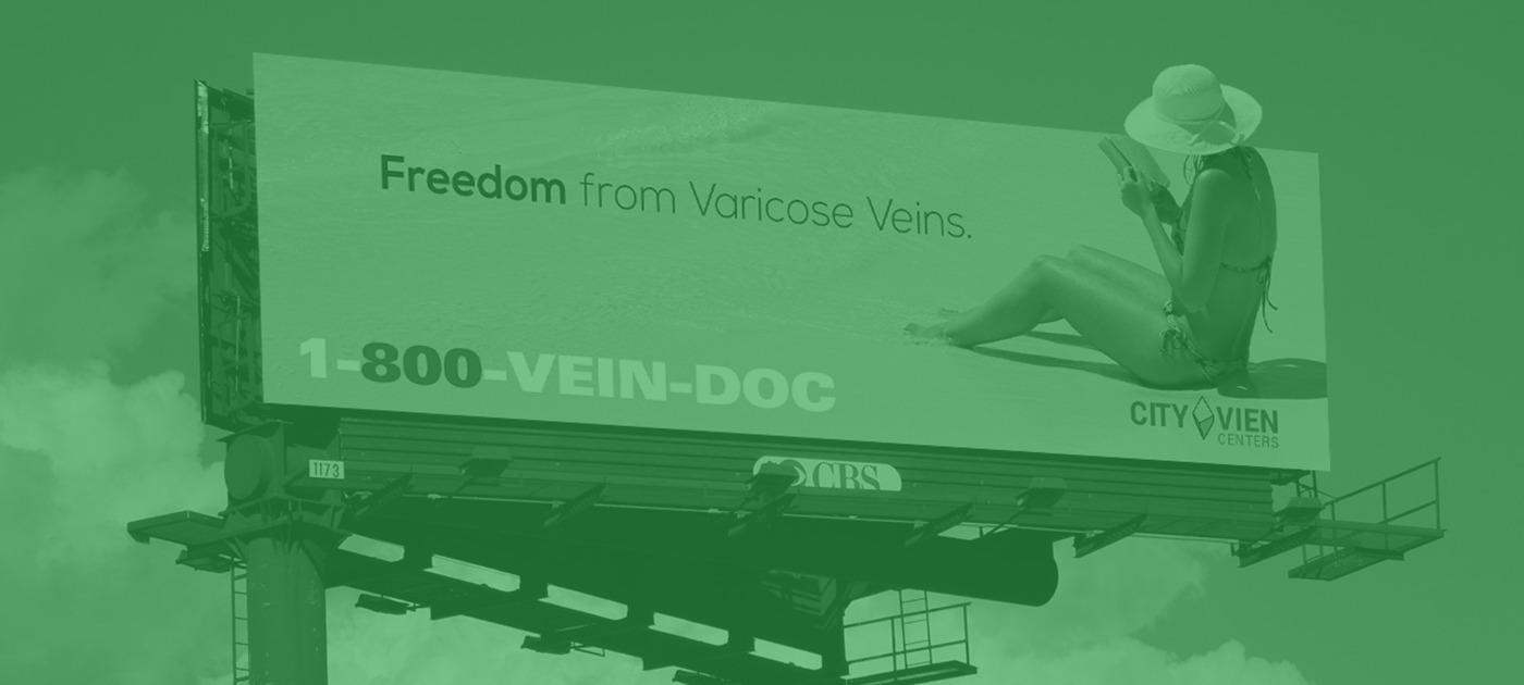 800-VEIN-DOC Billboard