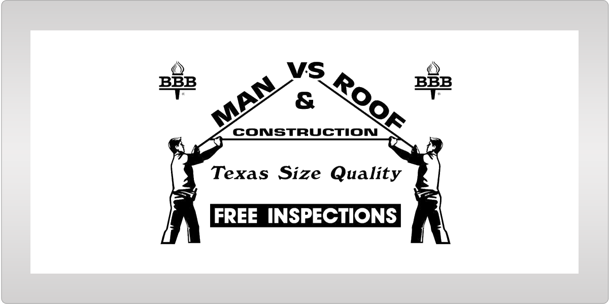 Man vs Roof Texas Ad