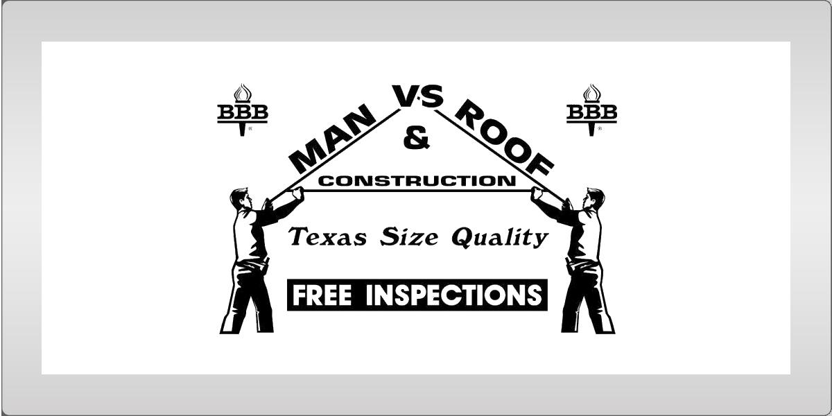 Man vs Roof Texas Ad