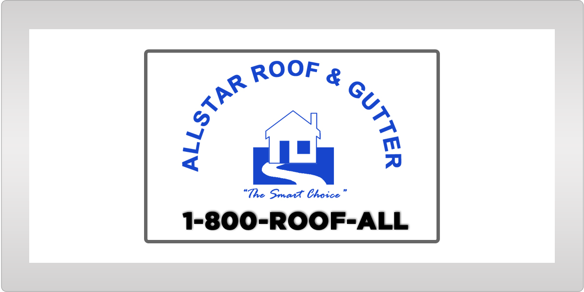 Allstar Roof & Gutter Advertising