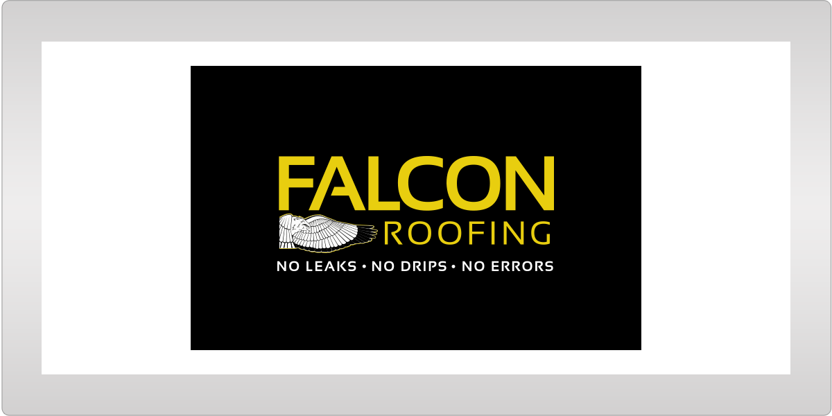 Falcon Roofing Advertising Client