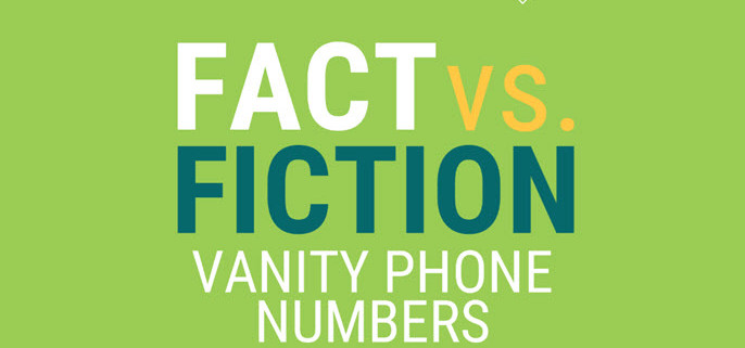 fact vs fiction - vanity numbers